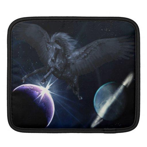 Manga negra del iPad de Pegaso Mangas De iPad