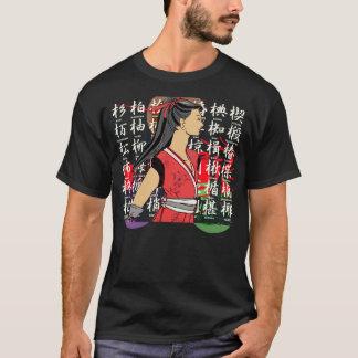 MANGA NINJA girl T-Shirt