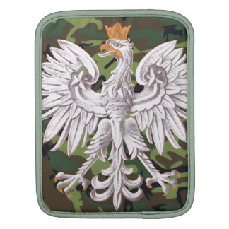 Manga polaca del carrito de Eagle Camo Mangas De iPad