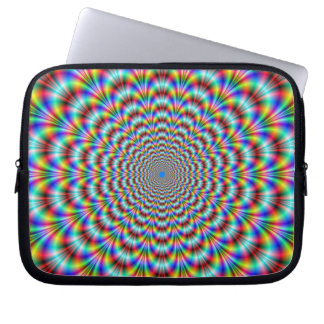 Manga psicodélica del ordenador portátil del mangas computadora