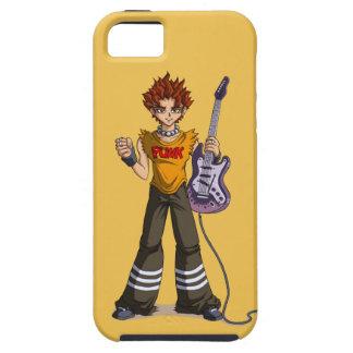 Manga Punk Guitar Player iPhone SE/5/5s Case