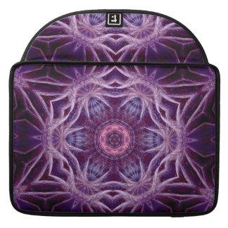 Manga púrpura de la aleta del carrito de la estrel funda para macbook pro