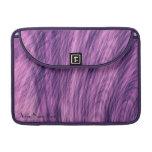 Manga púrpura de MacBook del fractal del abeto
