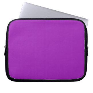Manga púrpura del ordenador portátil de la lavanda mangas portátiles
