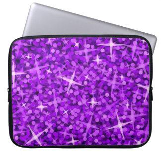 Manga púrpura del ordenador portátil del Glitz 15  Mangas Portátiles
