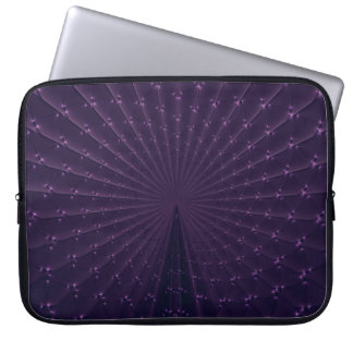 Manga púrpura oscura del ordenador portátil del mangas portátiles