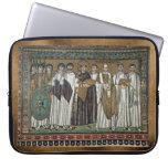 Manga religiosa monástica medieval del ordenador p funda computadora