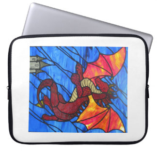 Manga roja del ordenador portátil del dragón manga portátil