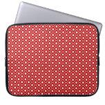 Manga roja del ordenador portátil del neopreno del mangas portátiles
