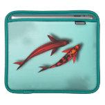 Manga roja del viaje del iPad de los pescados de K Mangas De iPad