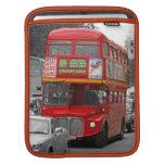 Manga roja roja del iPad del autobús de Londres Manga De iPad