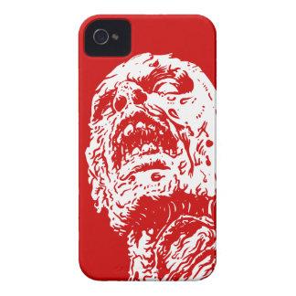 Manga roja sangre del caso 4s del iPhone 4 del zom iPhone 4 Protectores