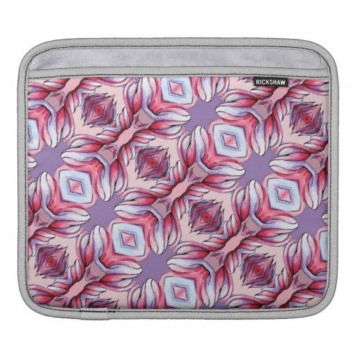 manga rosa clara púrpura de IPad del modelo de la  Fundas Para iPads