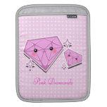 Manga rosada del iPad de los diamantes Mangas De iPad
