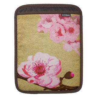 Manga rosada del iPad del flor Mangas De iPad