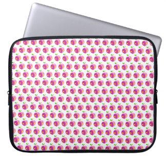 Manga rosada del ordenador portátil del modelo de funda portátil