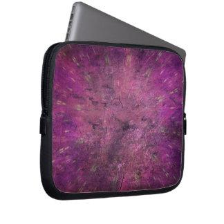 Manga rosada del ordenador portátil fundas ordendadores