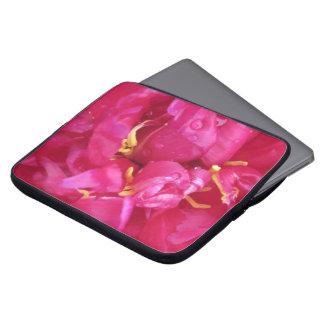 "Manga rosada magenta 15"" del ordenador portátil de fundas portátiles"