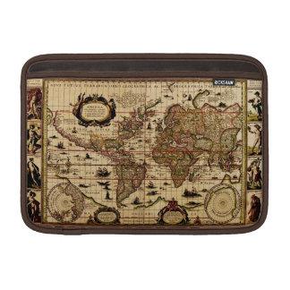 Manga rústica de la caja de la tableta del vintage fundas MacBook