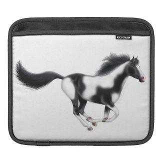 Manga salvaje galopante del carrito del caballo de fundas para iPads