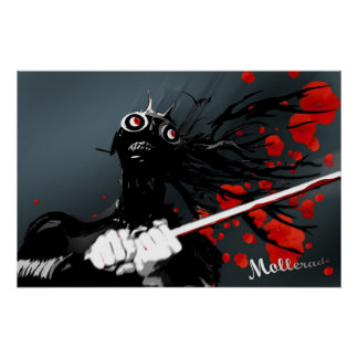Manga Samurai Posters