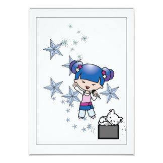 Manga Singer Card