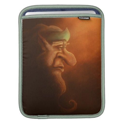 manga sola del macbook de la fantasía del gnomo fundas para iPads