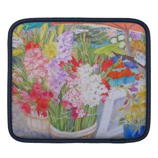"""Manga """"soporte de IPAD de la granja de las flores  Fundas Para iPads"""