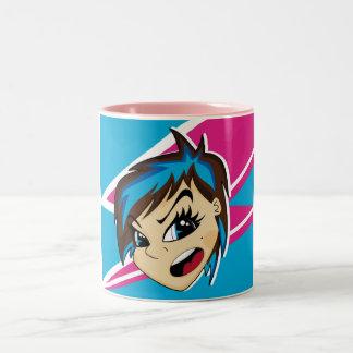 Manga Styled Emo Girl Mug