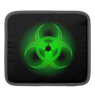 Manga verde del iPad del Biohazard Fundas Para iPads