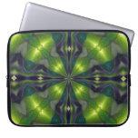 Manga verde del ordenador del fractal de la sinerg mangas portátiles