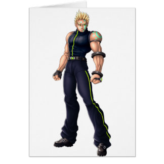 Manga Video Game Hero Cards