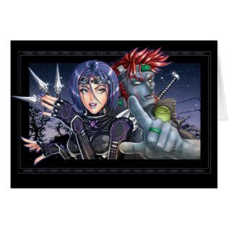 Manga Warriors Card