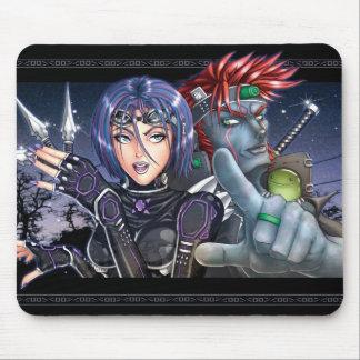 Manga Warriors Mouse Pad