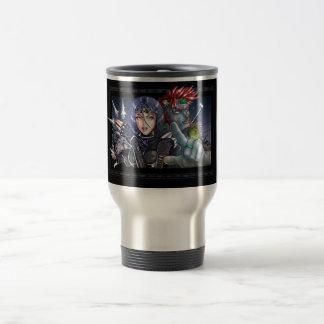 Manga Warriors Travel Mug
