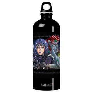 Manga Warriors Water Bottle