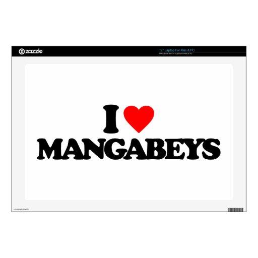 Mangabeys_01b.png Calcomanías Para Portátiles
