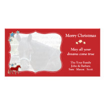 Mangalarga Marchador Festive Christmas Holiday Card