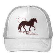 Mangalarga Marchador Hearts Mesh Hat