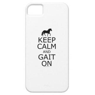 Mangalarga Marchador Keep Calm Gait On iPhone 5 Covers