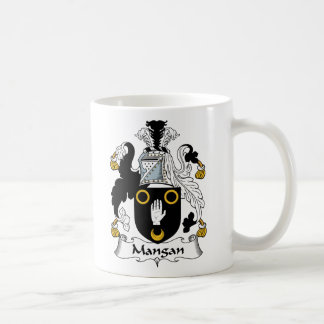 Mangan Family Crest Coffee Mug