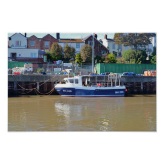 Manganeso 209 del barco de pesca póster