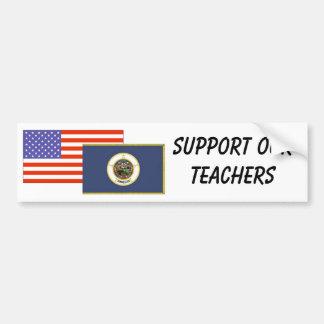 Manganeso--Apoye a nuestros profesores Pegatina Para Auto