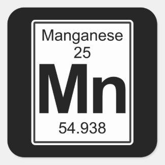 Manganeso - Manganeso Pegatina Cuadrada