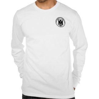 Mangas compridas de American Apparel (justa) Camisetas