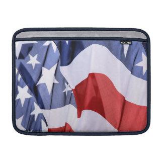 Mangas de aire de MacBook de la bandera americana  Funda Para Macbook Air