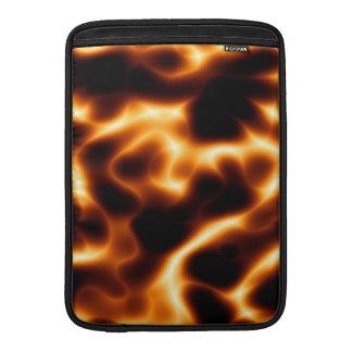 Mangas de aire de MacBook de las llamas Funda MacBook