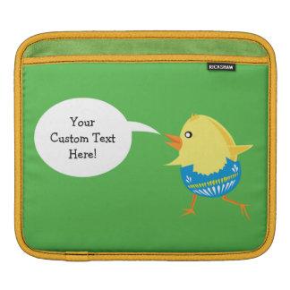 Mangas de encargo del dispositivo del polluelo de manga de iPad