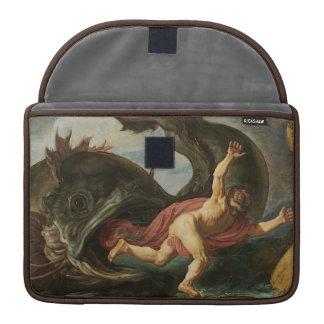 """Mangas de MacBook de """"Jonah y de la ballena"""" Funda Macbook Pro"""