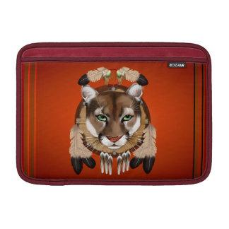 Mangas de MacBook del escudo del puma Fundas MacBook